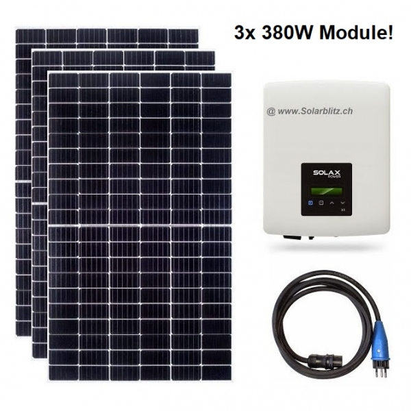 1140W (600W) Plug&Play Solaranlage legal!