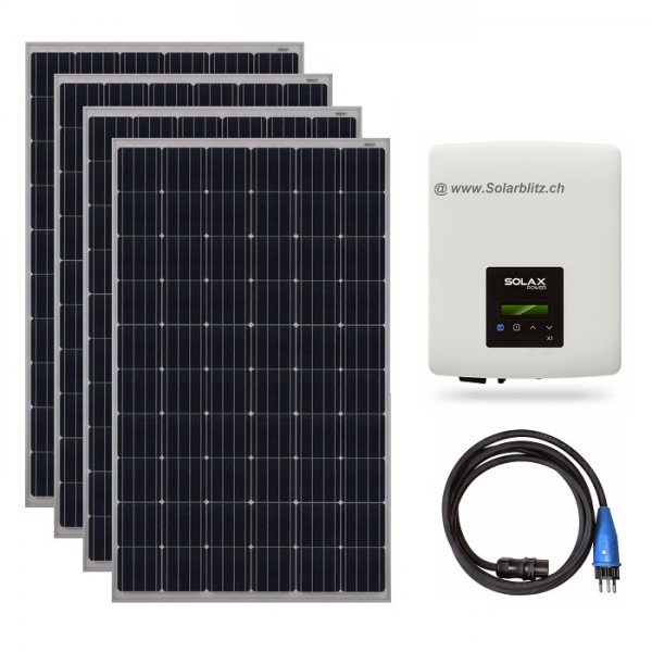 1200W (600W) Plug&Play Solaranlage legal!